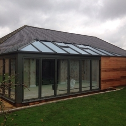 Astraseal to the rescue in complex conservatory installation