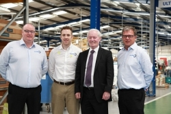 MP visits global hardware manufacturer