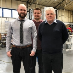 Aluminium specialists CDW Systems complete a hat-trick of key appointments