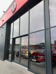 Full speed ahead for new MG dealership thanks to Glasshouse & CDW Systems