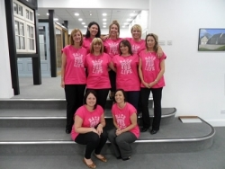 'Dempsey Dyer Dames' run the Race for Life