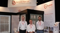 Dempsey Dyer celebrates 30 years with Deceuninck at the FIT Show