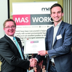 Dempsey Dyer Scoops Manufacturing Award!