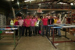 Dempsey Dyer Wear it Pink for Breast Cancer Awareness & Macmillan