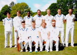 Howzat! Dempsey Dyer sponsors cricket club