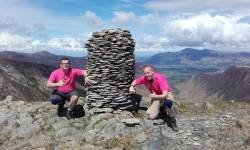 The Dempsey Dyer Two conquer the 42 Peaks Challenge
