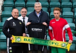 From spacer bars to football shirts: Edgetech sponsors Barwell FC