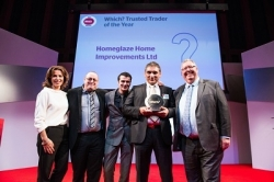 Homeglaze named Which?'s Trusted Trader of 2017