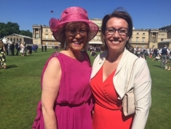 Jackloc attends exclusive Palace Garden Party for RoSPA Centenary