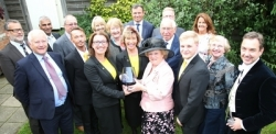 VIPs gather to officially present Jackloc with Queen's Award honour (Jackloc Company Ltd)