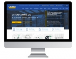Listers Central goes LIVE with new high-impact website (Lister Trade Frames Ltd)