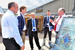 MP visits Listers to see green credentials