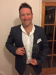 South West entrepreneur honoured at prestigious regional business awards