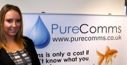 Tyler McKenna joins Pure Comms