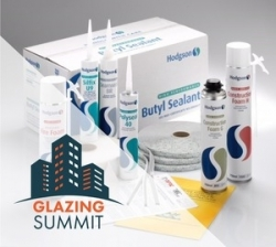 The Glazing Summit seals the deal with new sponsor Hodgson Sealants