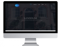 Slenderline offers a touch of glass with brand-new website