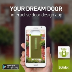 Solidor's Door Design App now on Android