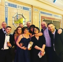 SupaLite raise the roof at the Red Rose Awards 2018