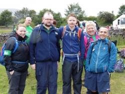 Truemans five conquer Yorkshire Three Peak Challenge for Macmillan