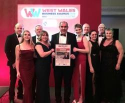 The pride of West Wales – Victorian Sliders named best large manufacturer