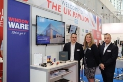 Flying the flag for UK fenestration distributors at Fensterbau