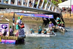 It's happy ever 'rafter' for Window Ware at River Festival charity race