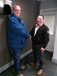 Window Ware & Express Trade Frames celebrate successful 21-year partnership
