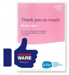 Window Ware goes extra mile for St Johns Hospice despite pandemic challenge