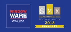 Window Ware shortlisted for SME Bedfordshire Business Awards 2018 final