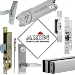 Window Ware welcomes Axim aluminium door hardware