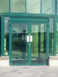 Aluminium doors (commercial)